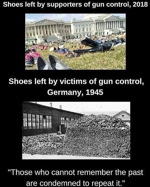 Gun control and shoes
