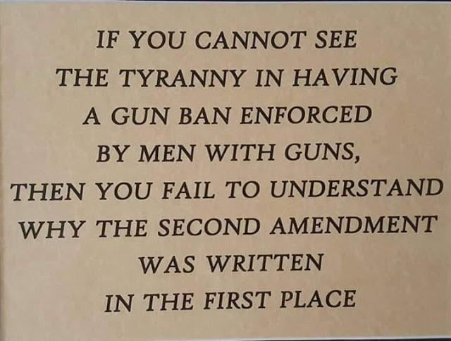 Gun control tyranny