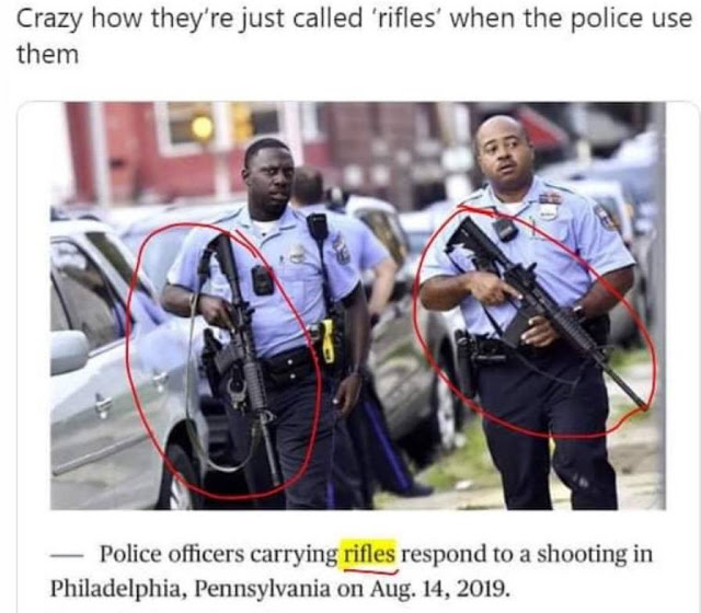 They're just rifles?
